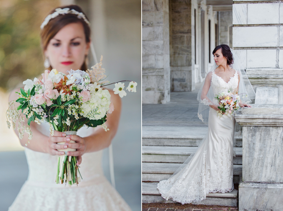 Ward Photography Bridal Session at Swannanoa Mansion