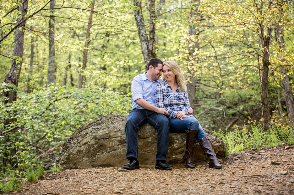 Skyline Drive Engagement Session
