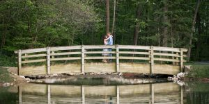 Harrisonburg, Va Wedding Photographer | JMU Arboretum Engagement Session | Katerina+Josh
