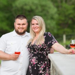 Creek's Edge Winery Engagement Session | Wedding Photographers | Morgan+Ben
