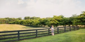 Red August Farm Engagement Session | Waynesboro, Va Wedding Photographer | Forest+Dana