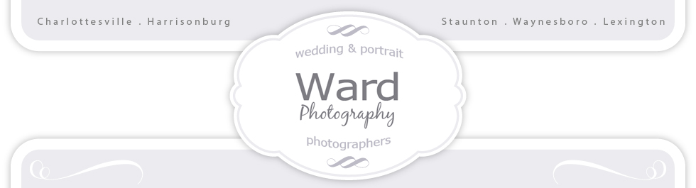 Ward Photography | Wedding Photographers | Charlottesville VA logo