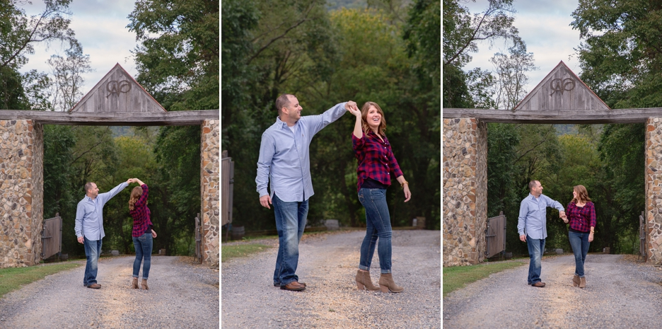 Chateau O'Brien Engagament Session