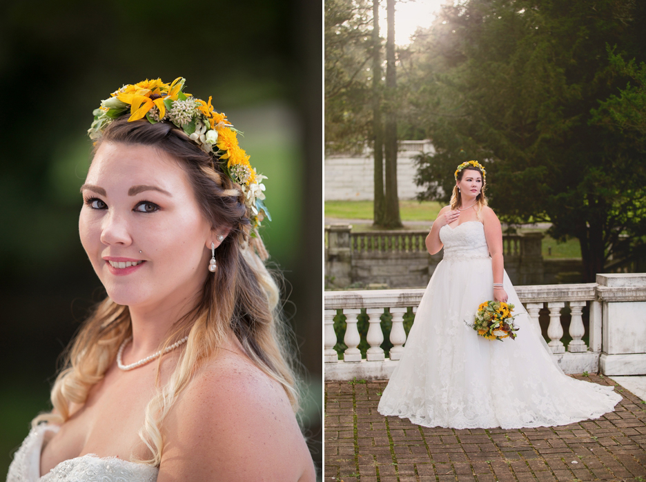 Bridal Session at Swannanoa Palace