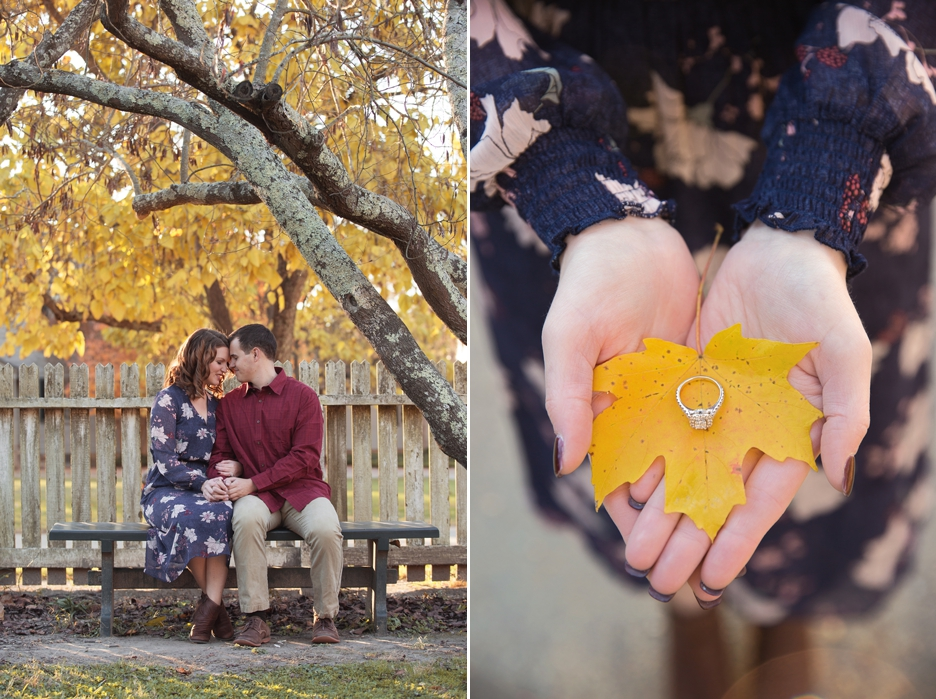 Williamsburg Engagement Session with Caitly+Max - photos by Wardphotography www.wardpics.com