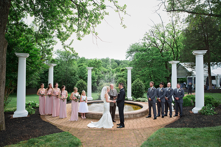 Whitney + Corey's wedding day