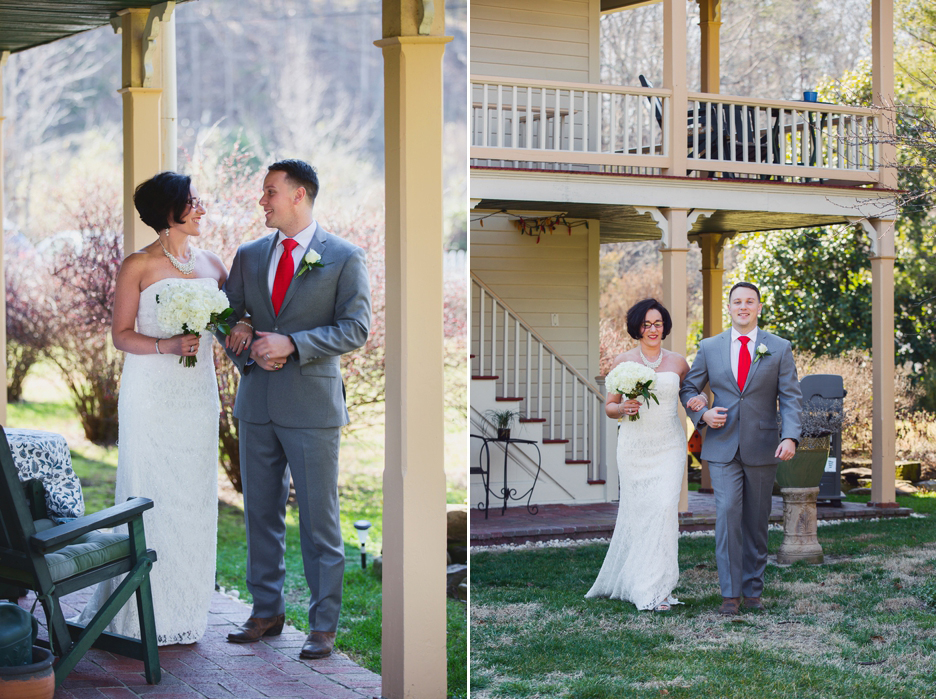 Hummingbird Inn Wedding by Ward Photography