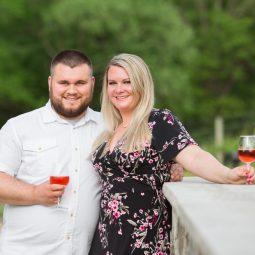 Creek's Edge Winery Engagement Session | Wedding Photographers | Morgan+Ben