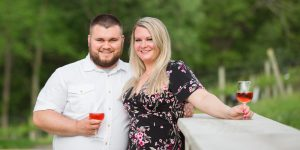 Creek's Edge Winery Engagement Session   Wedding Photographers   Morgan+Ben