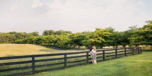 Red August Farm Engagement Session | Waynesboro, Va Wedding Photographer | Forrest+Dana