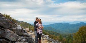 Skyline Drive Engagement Session | Va Wedding Photographers | Megan+Robin