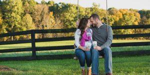Red August Farm Engagement Session | Va Wedding Photographer | Jordan+David