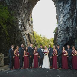 Natural Bridge Wedding Photographer | Va Weddings | Morgan+Ben