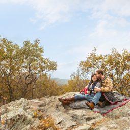 Hiking Engagement Session   Va Wedding Photographers   Kenia+Eric