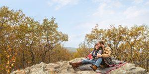 Hiking Engagement Session | Va Wedding Photographers | Kenia+Eric